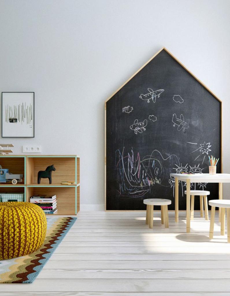 peinture ardoise on adopte la peinture ardoise dans. Black Bedroom Furniture Sets. Home Design Ideas