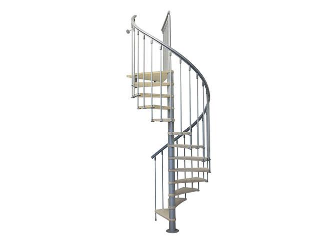 Un escalier en colima on sur mesure elle d coration - Escalier encombrement minimum ...