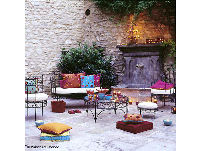 4 styles pour un jardin elle d coration for Meubler une terrasse