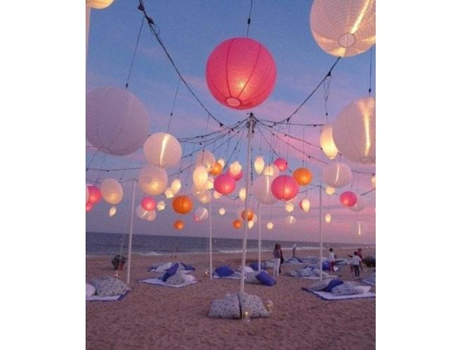 Trouvez un th me de mariage qui vous ressemble elle - Deco table bord de mer ...