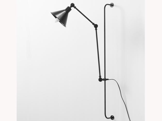Applique noire industrielle 1 objet 2 budgets pour la lampe gras elle d - Lampe industrielle maison du monde ...
