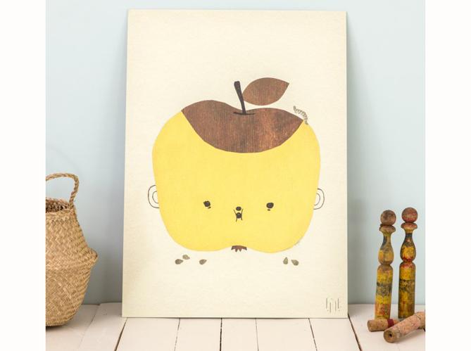 Une chambre d enfant jaune moutarde image