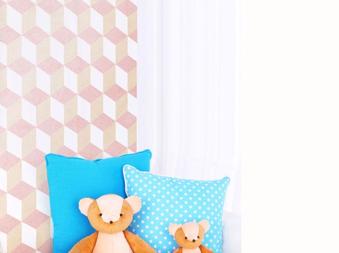 Une chambre d enfant rose pale image