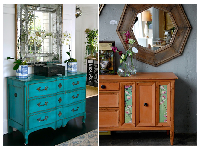 comment relooker ses meubles de famille elle d coration. Black Bedroom Furniture Sets. Home Design Ideas