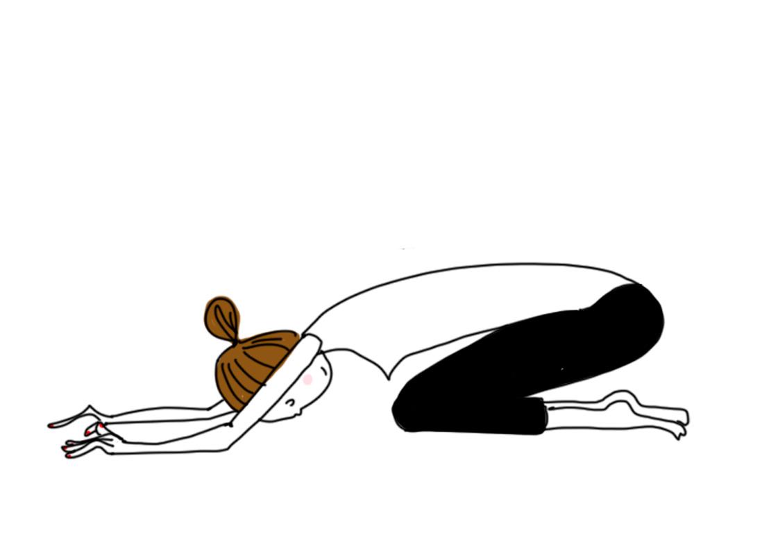 yoga-posture-Balasana