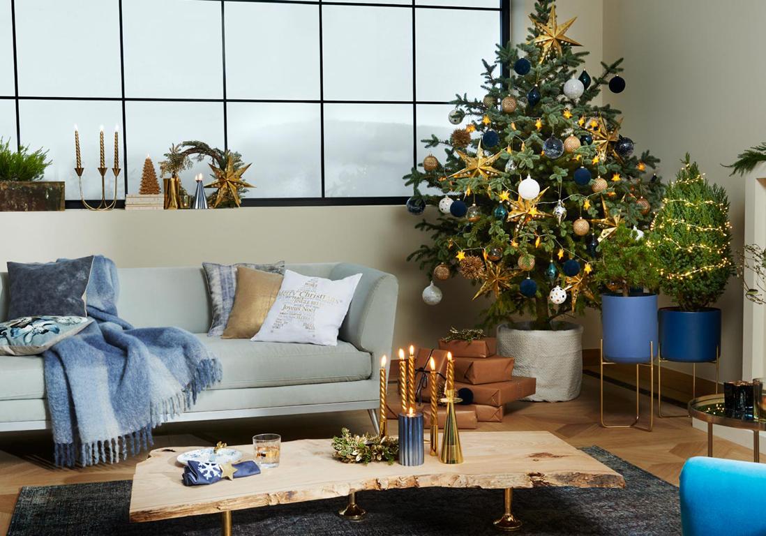 d coration sapin comment d corer votre arbre de no l elle d coration. Black Bedroom Furniture Sets. Home Design Ideas