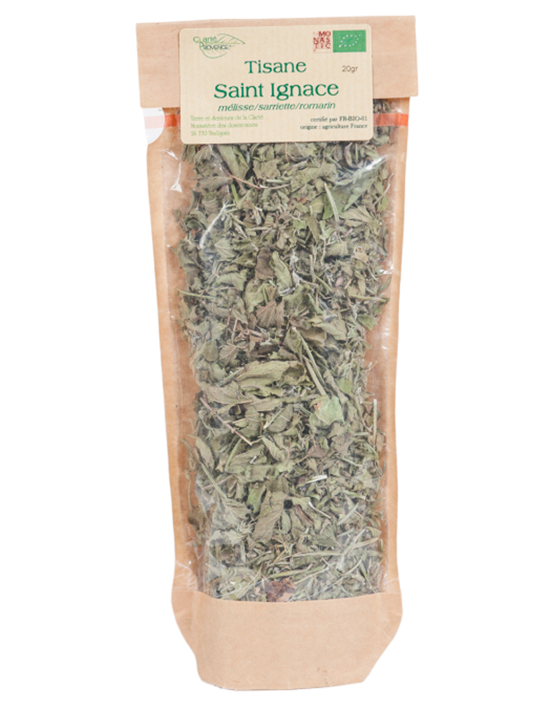 Tisane Saint Ignace, Comptoir des Abbayes, 3,51 € - Tisane chic : on