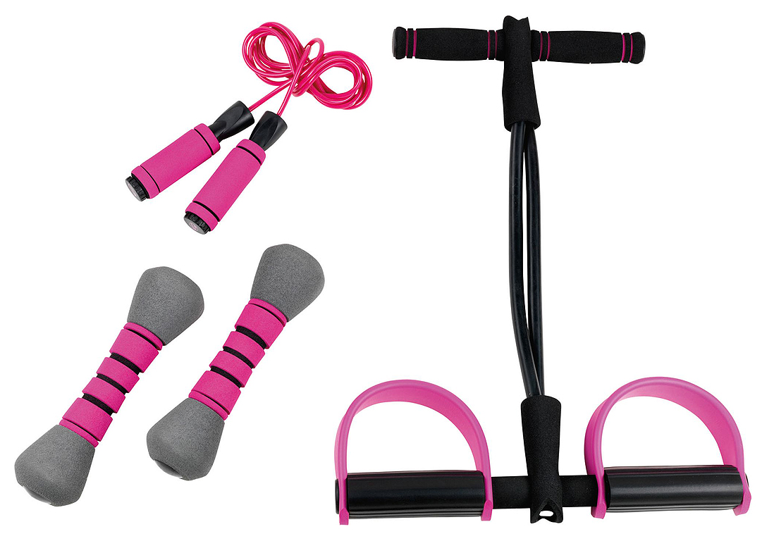 Kit Fitness - Fitness : on s'affine à la maison - Elle