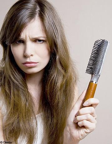 Lhistoire du moyen de la sortie des cheveux