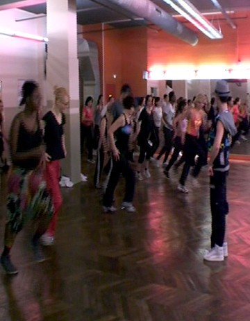 Zumba Fitness, sur un air latino