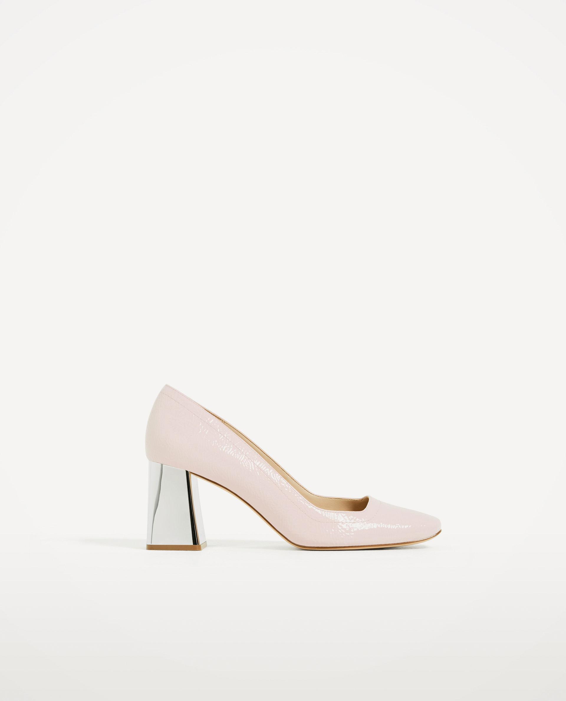 design de qualité a2a78 d79e5 Chaussures à talons argentés Zara - 10 accessoires Zara qui ...