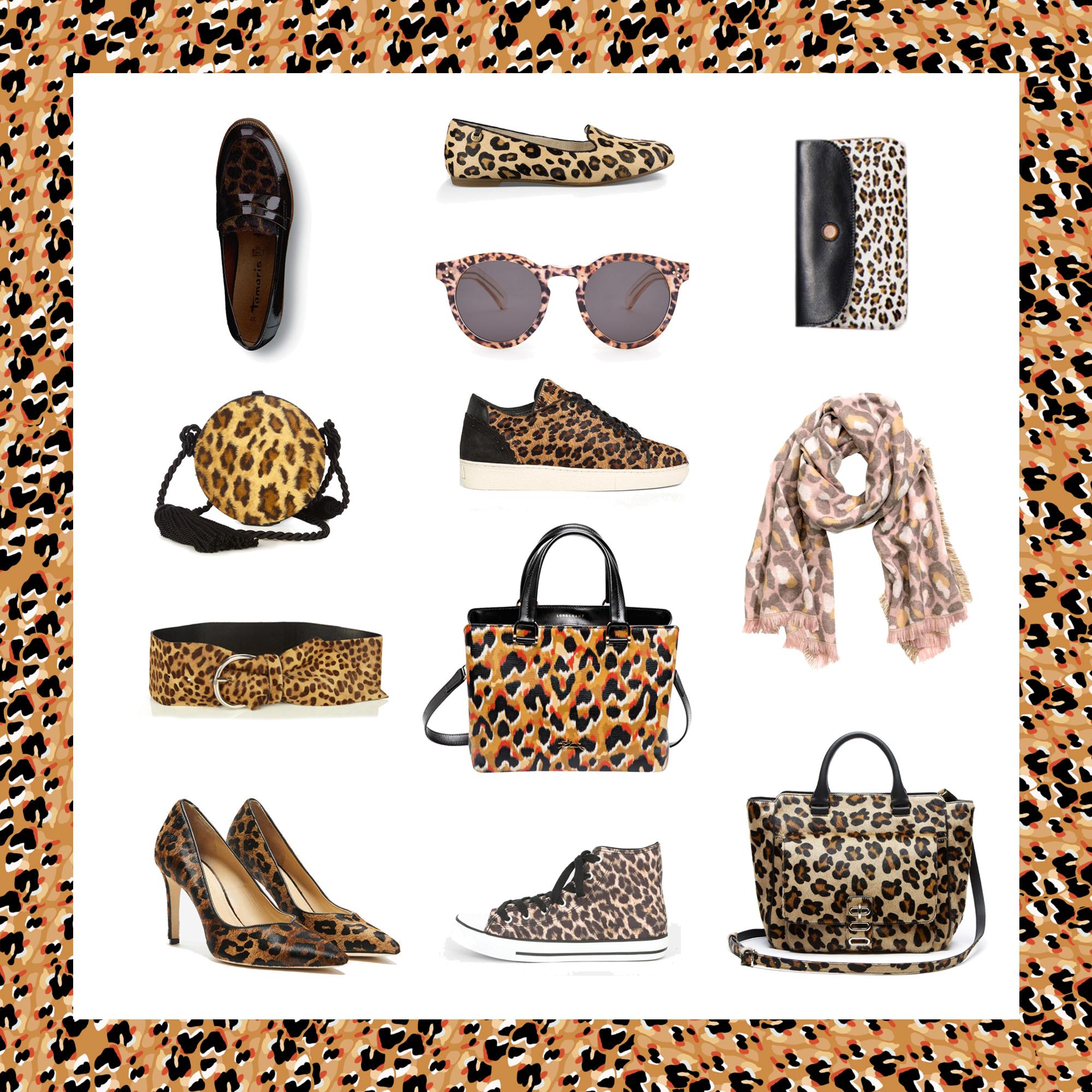 accessoire leopard  les plus beaux accessoires leopard de l\u0027hiver , Elle