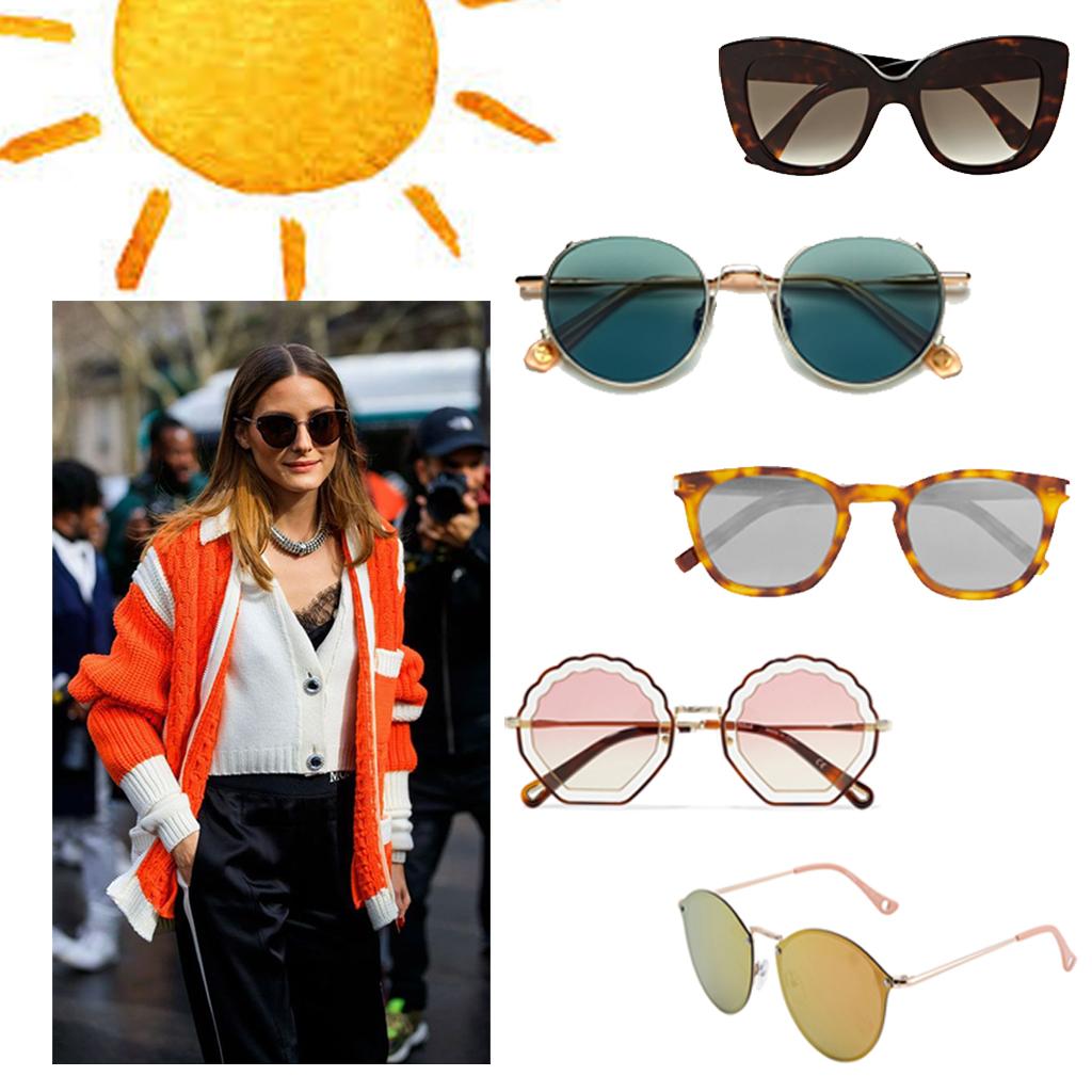 efb988e9dc Lunettes de soleil femme été 2019 : 40 paires de lunettes de soleil pour  femme tendance pour l'été 2019 - Elle