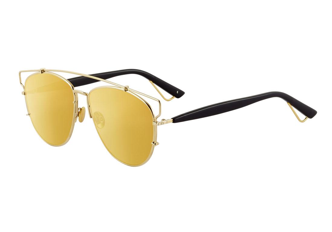 37d12478206c8 Lunettes de soleil miroir Dior - 20 lunettes de soleil miroir pour passer  un été stylé - Elle
