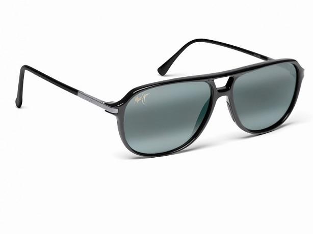 mode tendance guide shopping lunettes visage carre aviator maui jim lunettes de soleil. Black Bedroom Furniture Sets. Home Design Ideas