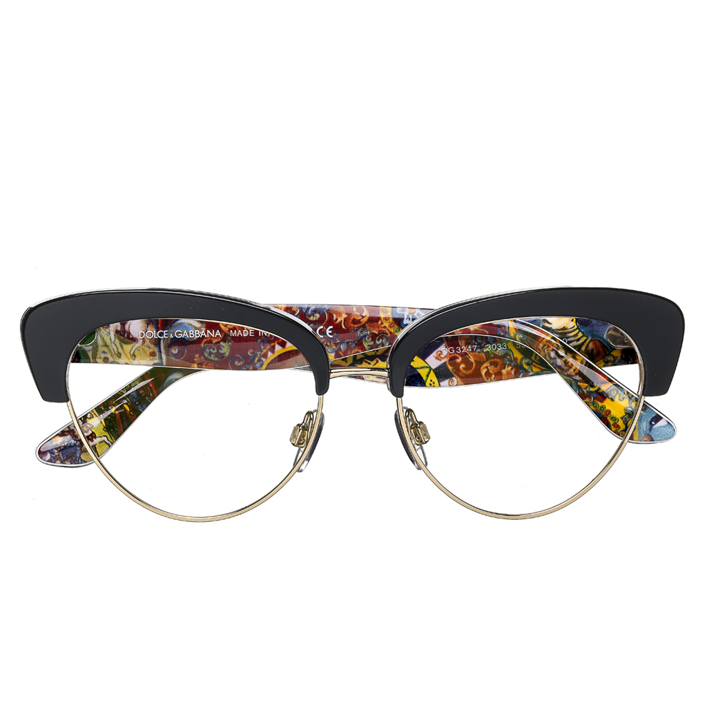 e282be96501 Lunettes de vue Dolce and Gabbana Eyewear - 8 paires de lunettes pour  femmes qui nous font de l oeil - Elle