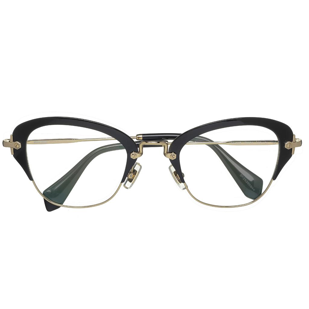 lunettes de vue miu miu eyewear 8 paires de lunettes pour femmes qui nous font de l 39 oeil elle. Black Bedroom Furniture Sets. Home Design Ideas
