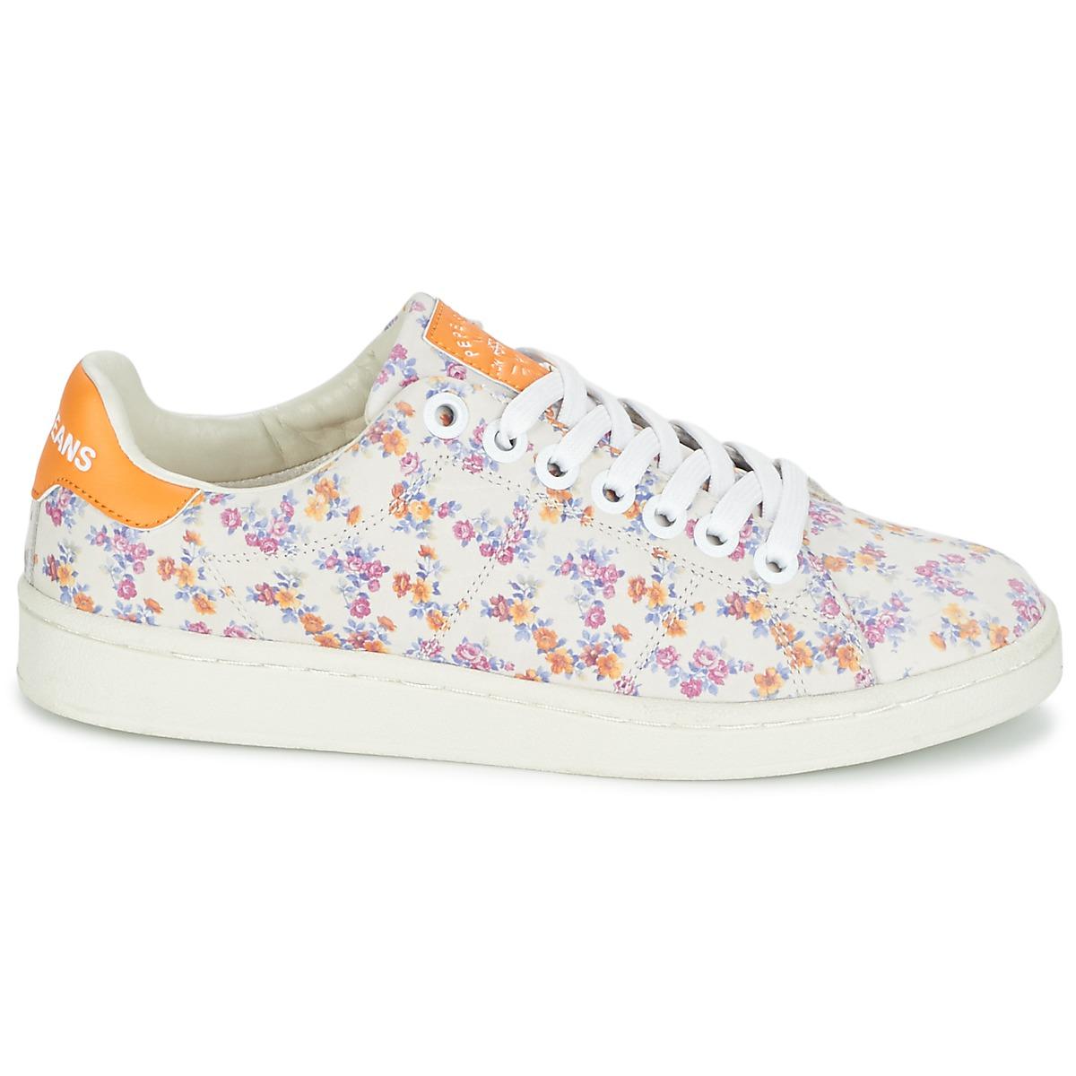 2e7b6dee29a Baskets à fleurs Pepe Jeans - On veut des baskets à fleurs - Elle