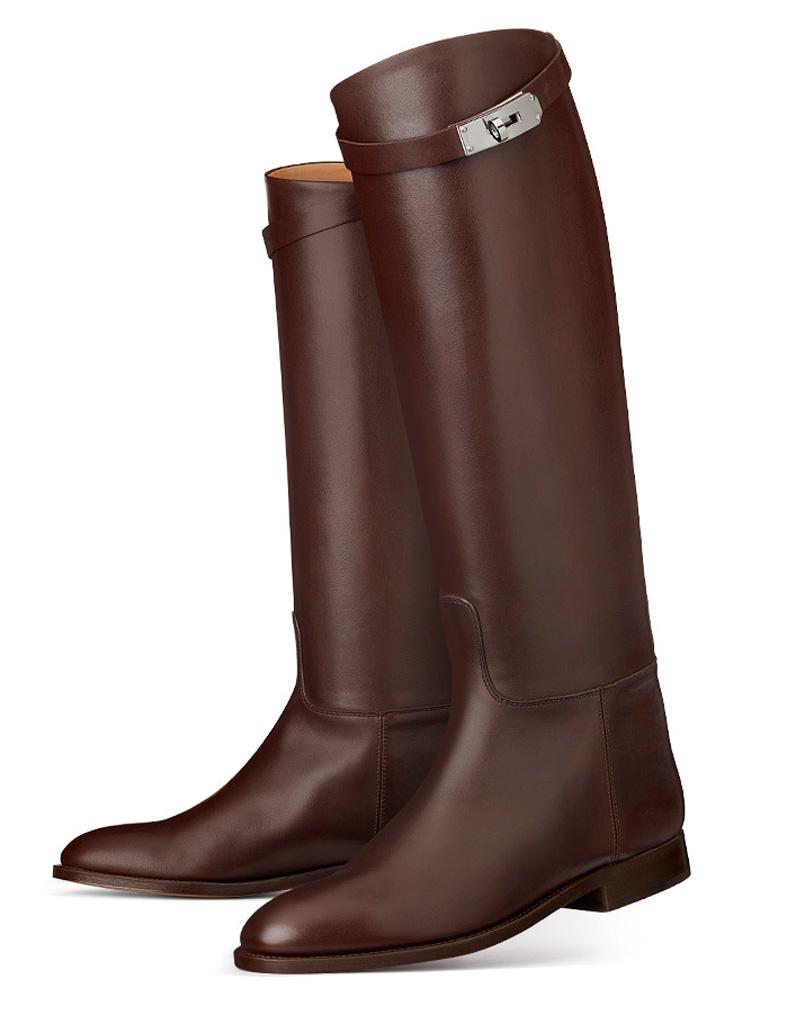 Bottes cavalières Hermès , Nos 20 plus belles paires de bottes cavalières ,  Elle