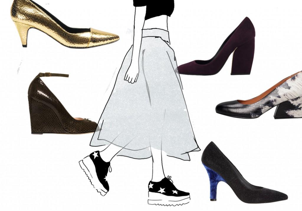 chaussure talon confortable elle. Black Bedroom Furniture Sets. Home Design Ideas