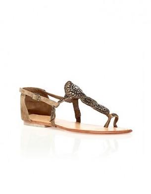 Mode guide shopping tendance accessoire chaussues sandales plates Antik Batik