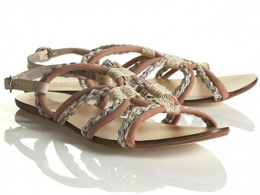 Mode guide shopping tendance accessoire chaussues sandales plates topshop sandales mi Corde Tresse