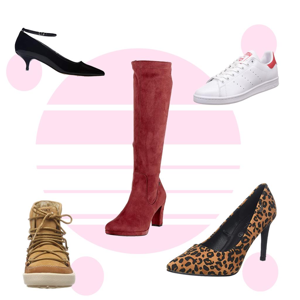 soldes hiver 2019 les plus belles paires de chaussures rep r es sur amazon elle. Black Bedroom Furniture Sets. Home Design Ideas