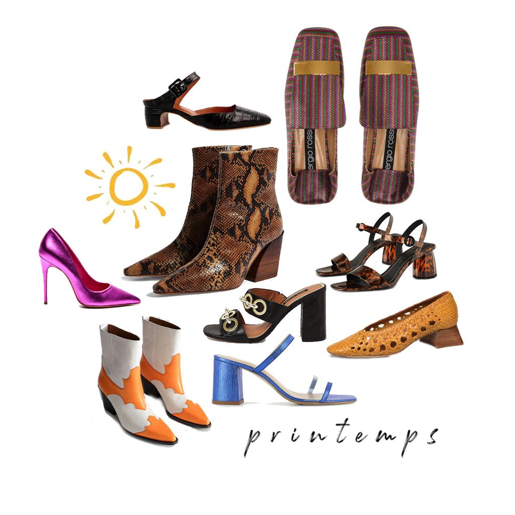 ce4c7ad71667ed Chaussures printemps été 2019 : découvrez les plus belles chaussures du  printemps été 2018 - Elle