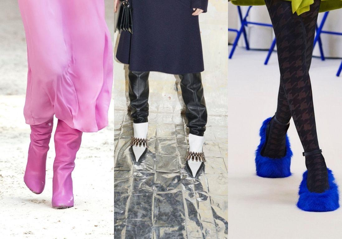 Fashion Week automne-hiver 2021/2022 : les plus belles chaussures de la saison - Elle