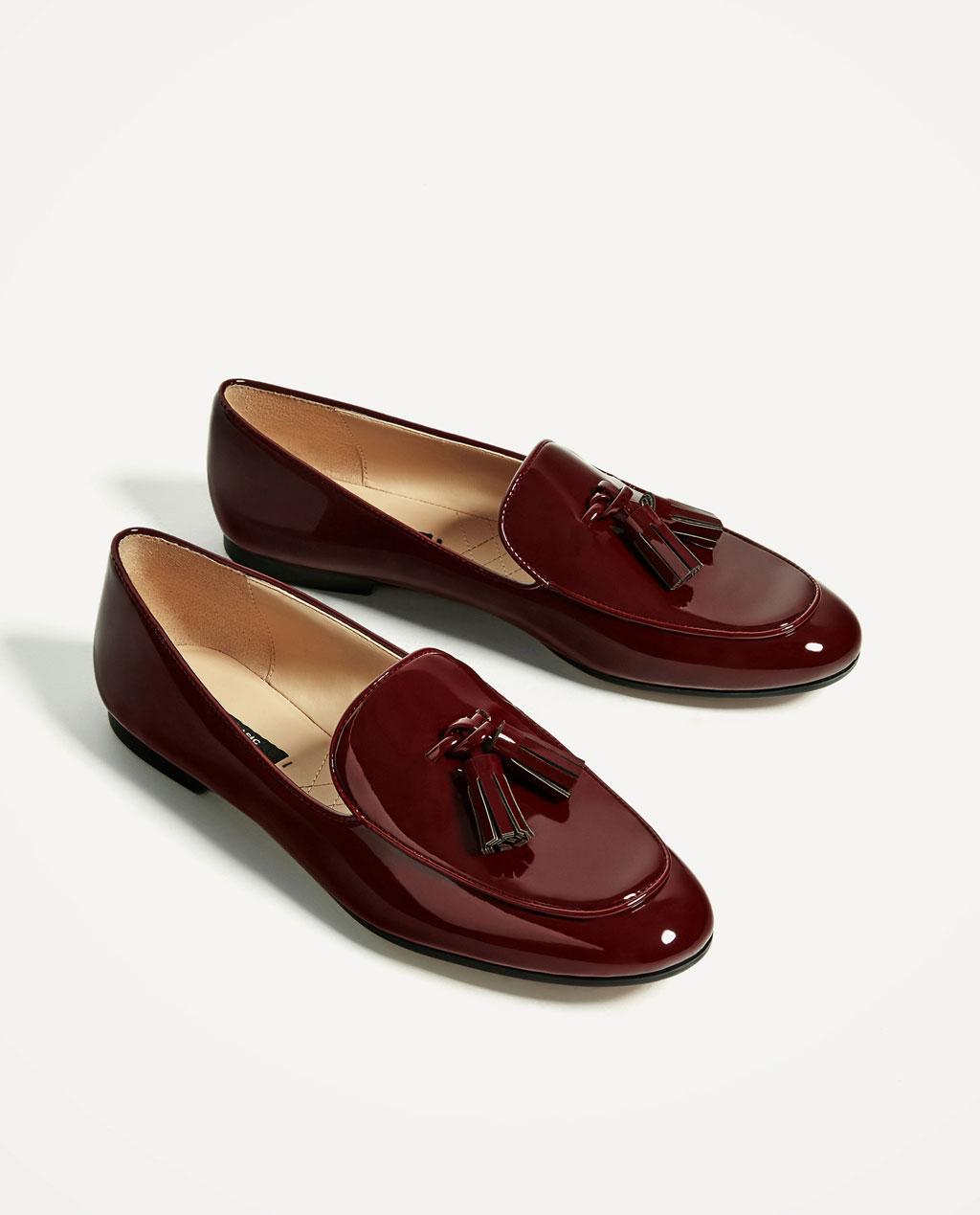 b48735439177 Mocassins Zara - Les 35 paires de mocassins que l on veut bien - Elle