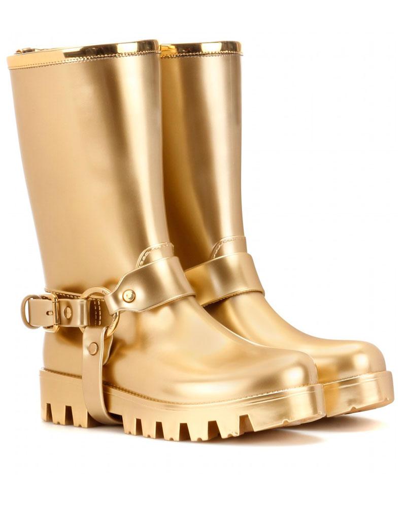 nouveau sélection prix spécial pour design intemporel Bottes de pluie en caoutchouc Dolce & Gabbanna - Bottes de ...