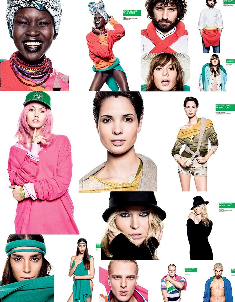 Benetton les nouveaux visages de la campagne
