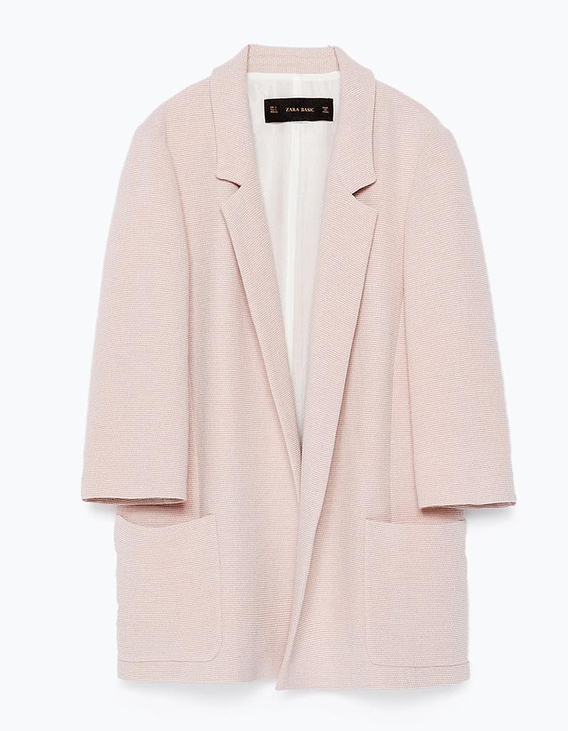 Zara Elle Passion Rose Blazer Pâle L354jAqRc