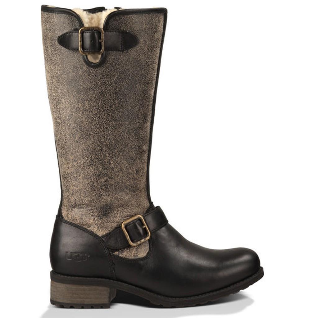 Les hommes ugg bottes en cuir