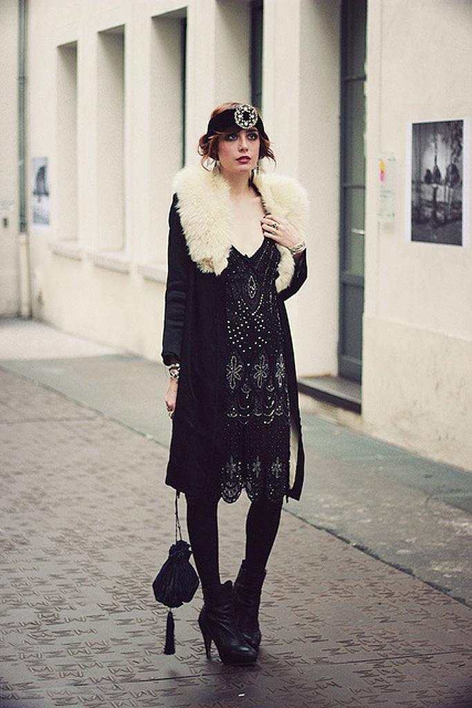 Mode années 20 manteau On s'inspire de la mode des années