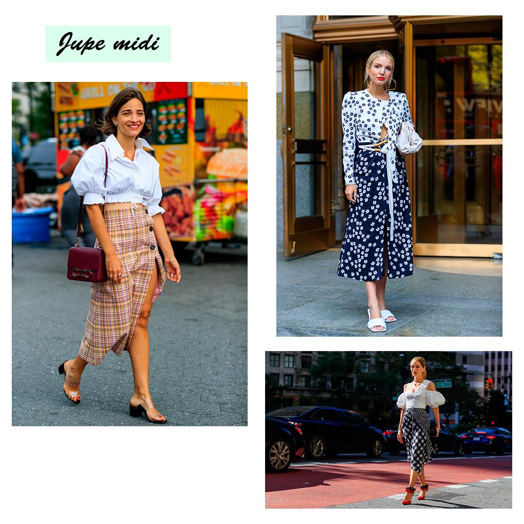 Comment porter la jupe midi et les plus beaux modèles à