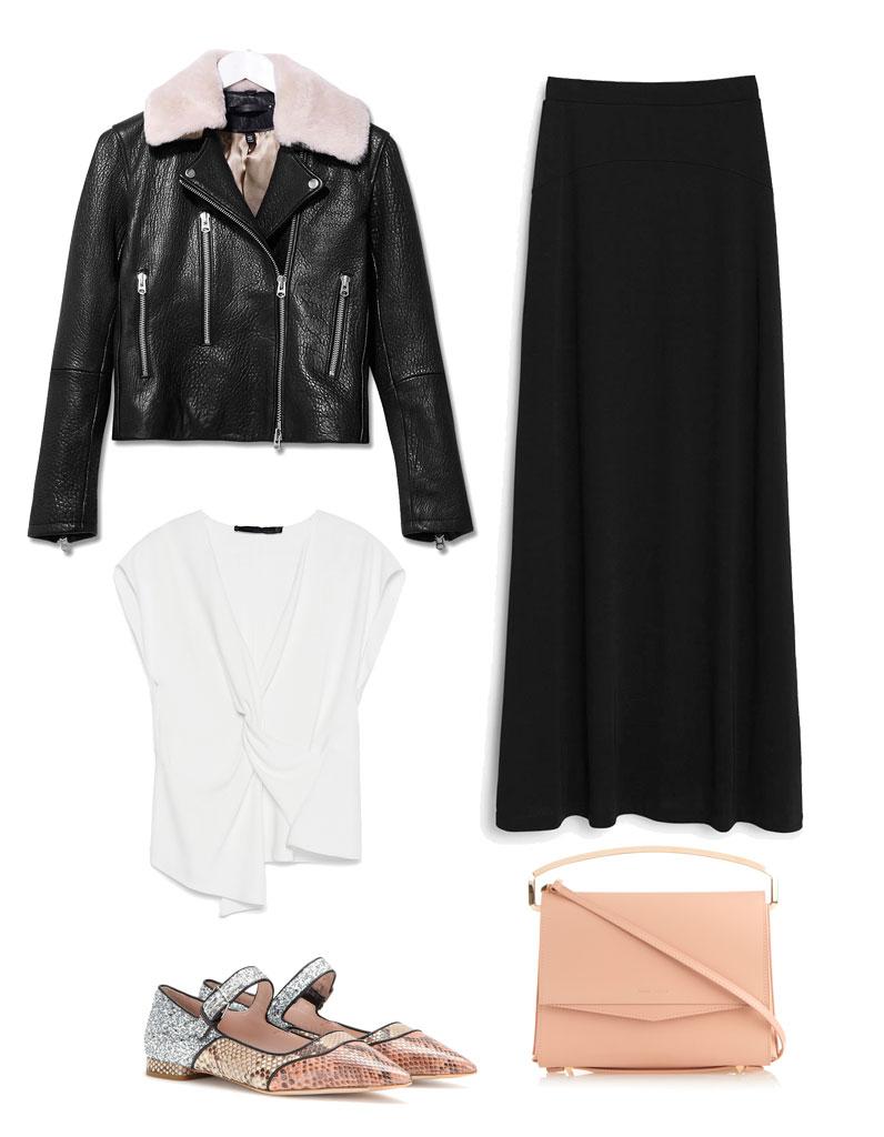 Comment porter une jupe longue : comment porter une jupe