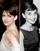 Anne Hathaway la nouvelle Audrey Hepburn