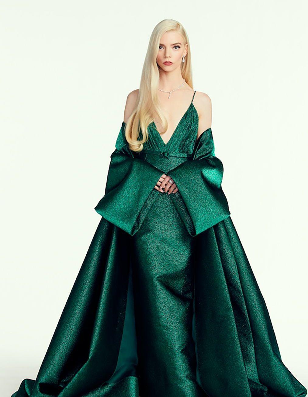 Golden Globes : Anya Taylor-Joy ne portait pas une, mais deux robes Dior - Elle