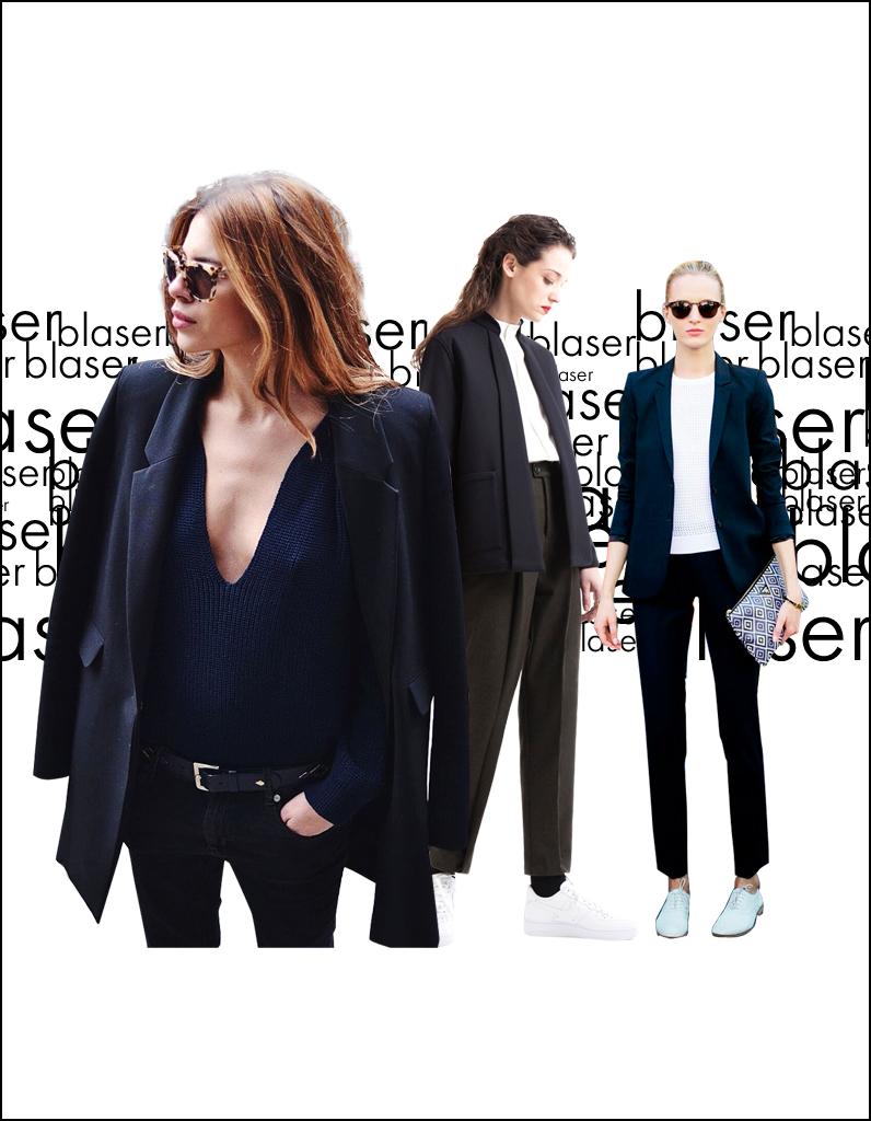 5b2458d8b98 Blazer noir   25 façons de porter un blazer noir - Elle