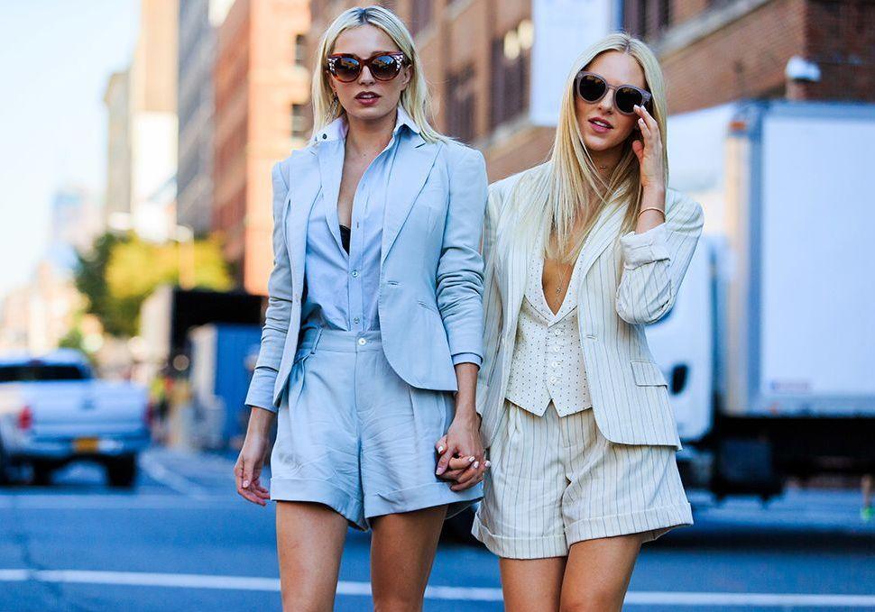 Tailleur short : les plus beaux looks de l'été Elle