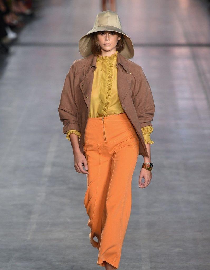 Défilé Alberta Ferretti Prêt à porter Printemps-été 2020 - Milan - Elle
