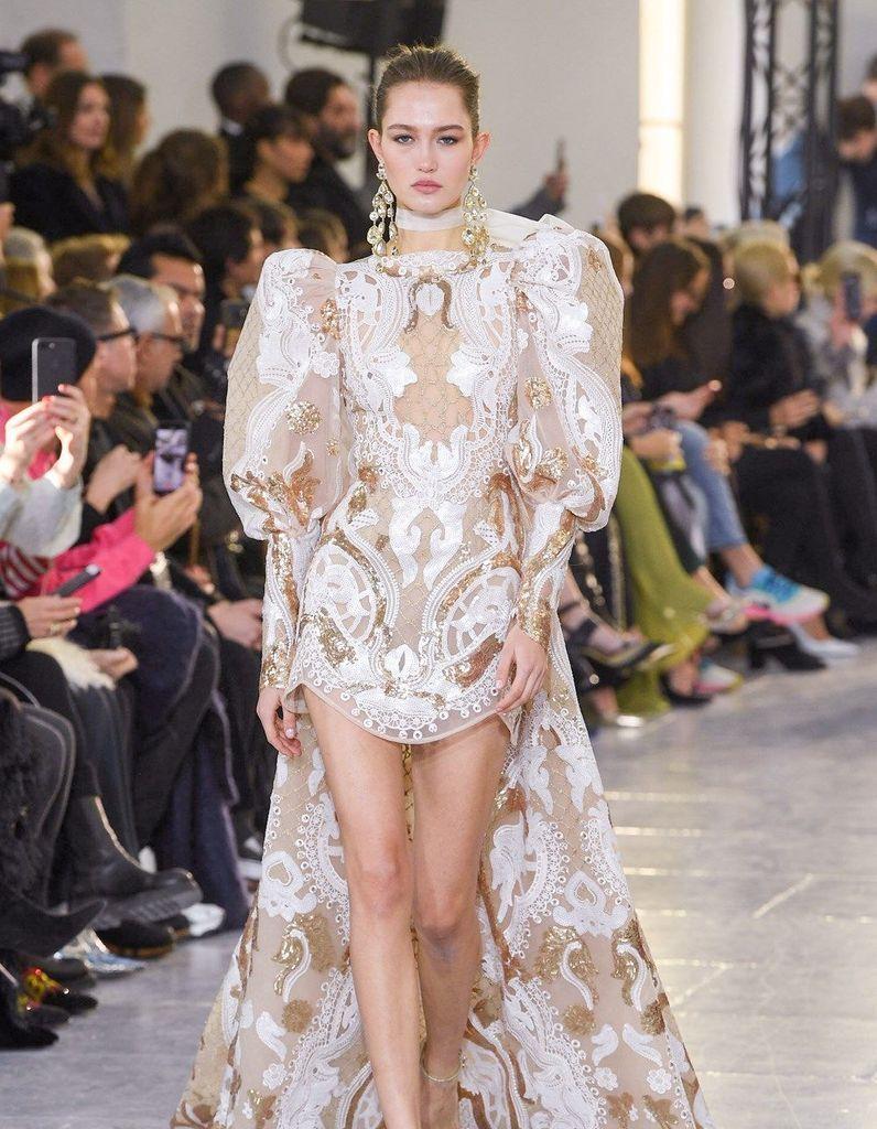 Défilé Elie Saab Haute Couture Printemps-été 2020 - Paris - Elle