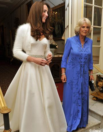 Kate Middleton : une 2e robe de mariée pour la soirée - Elle