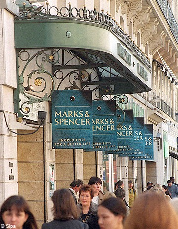 Marks & Spencer revient en France