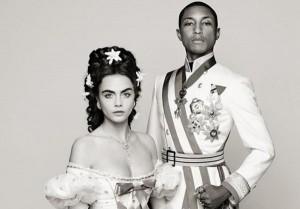 Pharrell Williams et Cara Delevingne s'embourgeoisent pour Chanel