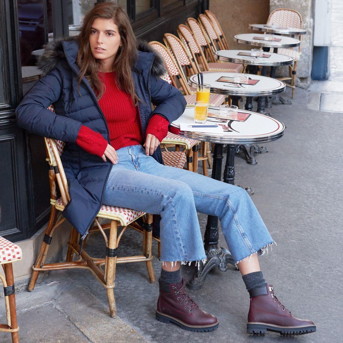 tomar el pelo Por encima de la cabeza y el hombro menú  ELLEfashioncrush : la nouvelle Timberland London Square - Elle