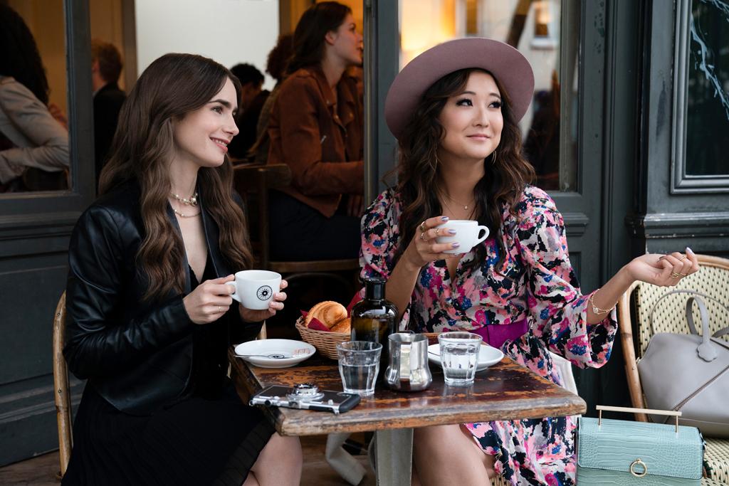 La robe imprimée Iro de Mindy - Emily in Paris : où shopper les pièces mode  de la série ? - Elle