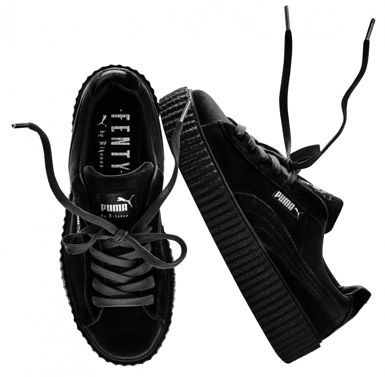 design de qualité 8f9a4 4d814 Creepers noires Fenty Rihanna by Puma - It pièce : les ...