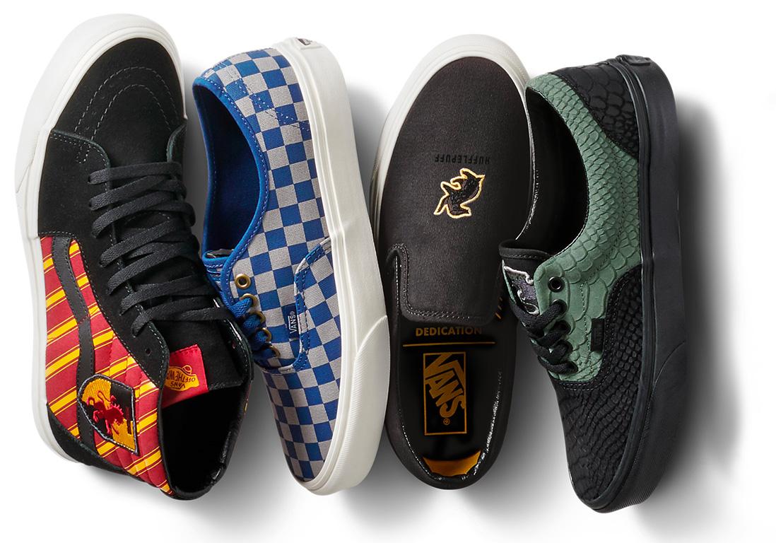 L'instant mode : Gryffondor, Mangemort, Vif d'or, on s'arrache la collection Vans x Harry Potter